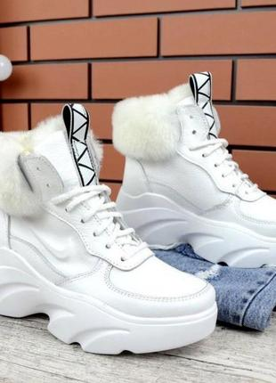 Женские зимние ботинки. цена🔥
