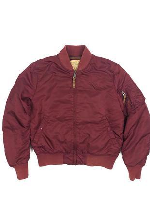Alpha industries бомбер куртка