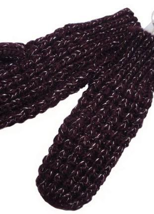 Теплые варежки рукавицы на флисе для девочки женские бренд nam...