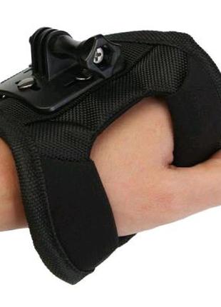 Крепление на кисть (перчатка), руку для GoPro, SJCAM SJ4000, Xiao