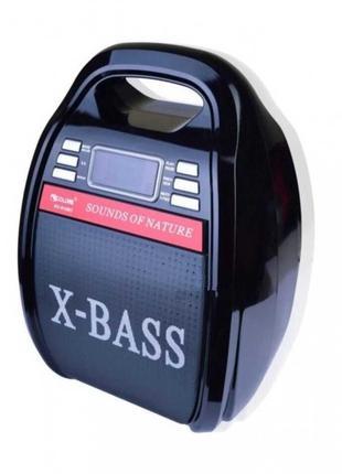 Колонка bluetooth беспроводная портативные блютуз акустика с б...