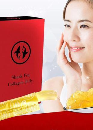🐟🐟🐟ginza tomato shark fin collagen jelly премиум желе коллаген...