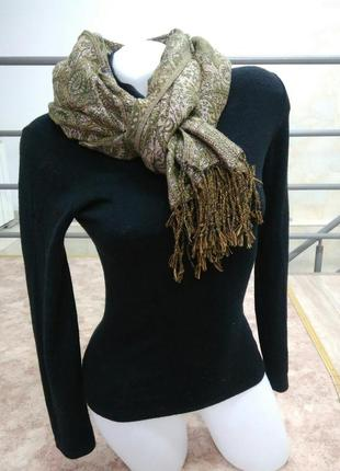 Классный палантин шарф платок италия
