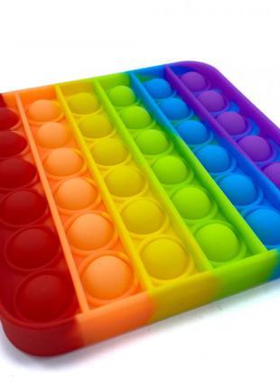 Антистресс Pop It игрушка Поп Ит Разноцветный