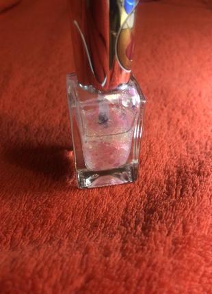 Няшный лак для ногтей с блестками лак для нігтів з блиском