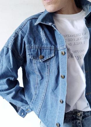Распродажа, джинсовые куртки с капюшоном