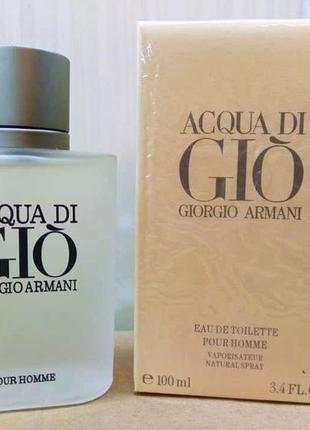 🌹оригинал 🌹100 мл giorgio armani  acqua di gio pour homme