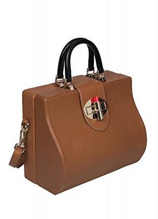 Шикарная кожаная сумка oysby london