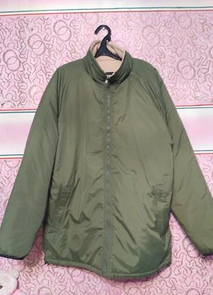Двухсторонняя демисезонная куртка xxl