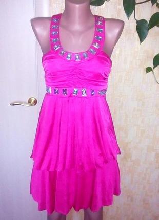 Турция!нарядное фирменное платье с камнями/платье футляр/выпус...