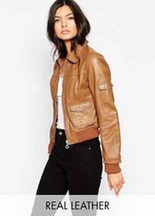 Фирменный бомбер из 100 %  кожии/куртка/бомбер/пиджак
