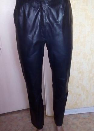 Отличные брюки из 100% кожи/кожаные брюки/брюки