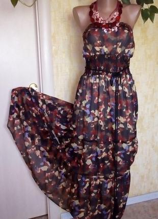 Индия!воздушный сарафан с китицами/сарафан/платье длинное/юбка