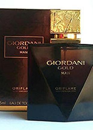 Туалетная вода giordani gold man, 75мл
