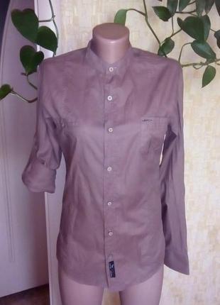 Стильная фирменная рубашка/шведка/футболка/рубашка