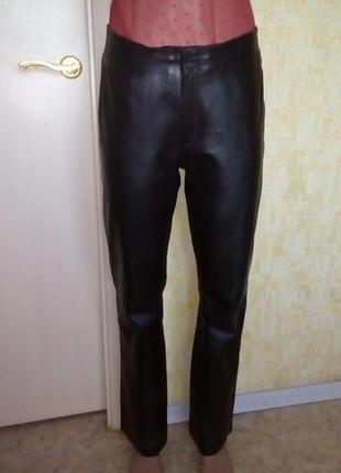 Шикарные брючки из 100 % мягенькой кожи /брюки кожаные /брюки ...