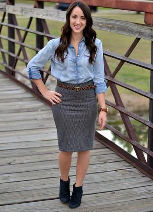 Роскошная юбка из 100 % кожи/юбка/кожаная юбка/юбка карандаш/д...