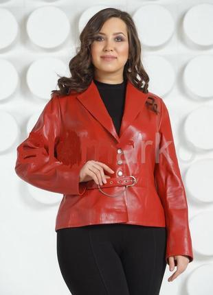 Куртка из натуральной мягкой кожи/куртка/ кардиган /плащ/пальт...