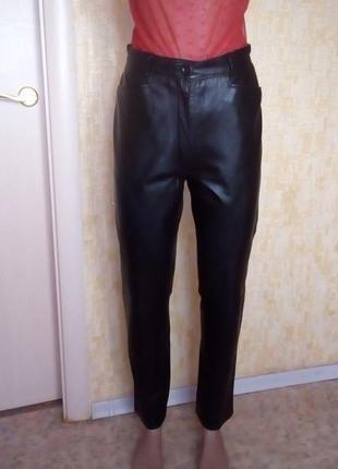 Шикарные брюки из 100 % мягеньой кожи /брюки кожаные /брюки /ш...