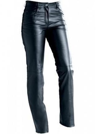 Крутые кожаные джинсы/брюки кожаные /брюки /штаны/джинсы