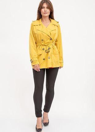 Плащ женский 119R446 цвет Желтый