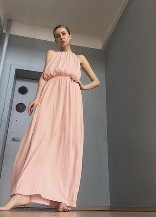 Платье . сарафан в пол h&m
