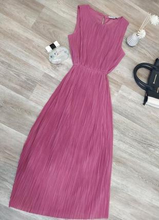 Шикарное платье миди английского бренда next р 8