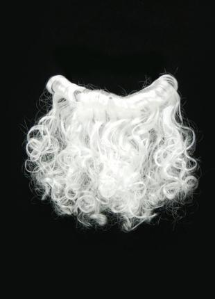 Борода Деда Мороза 20см маленькая