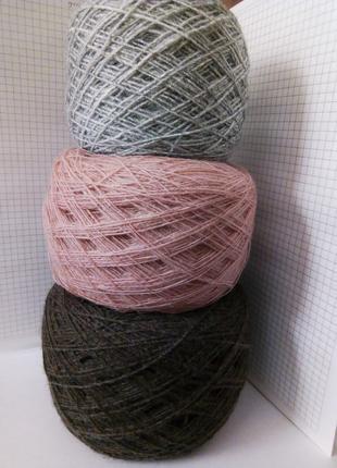 пряжа нитки для вязания полушерсть недорого