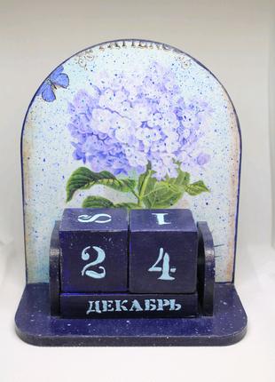 Эксклюзивный календарь ручной работы