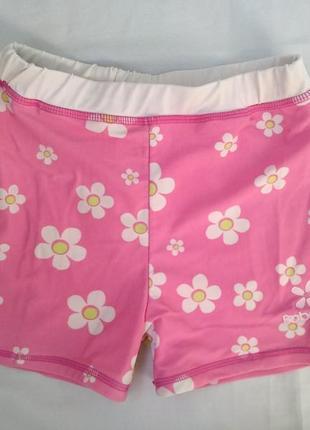 Шортики-плавки babeskin р.140 девочке 9-10лет пляжные шорты