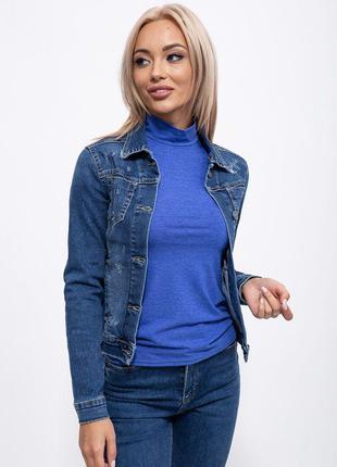 Джинсовая куртка 123R17585 цвет Синий