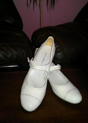 Кожаные туфли airstep 41р