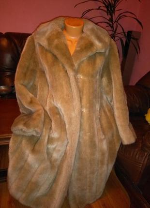 Искуственная, штучна шуба, пальто