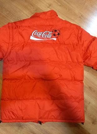Куртка  coca cola
