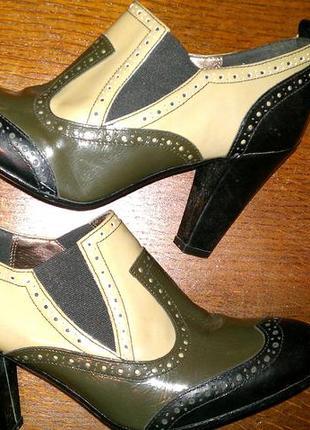 Кожаные закрытие туфли dolcis 40р