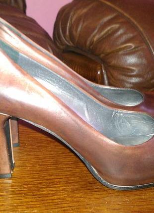 Кожаные туфли navyboot 40р