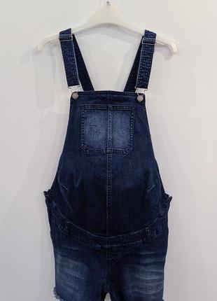 Комбинезон-шорты джинсовый для беременных kiabi