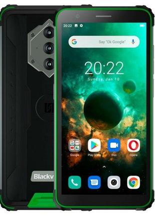 Смартфон Blackview bv6600 IP68 4/64gb Green
