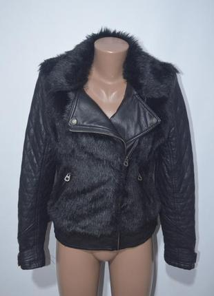 Куртка косуха искусственный мех