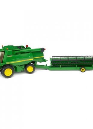 Машинка Bruder Комбайн зерноуборочный John Deere T670i 1:16 (0...