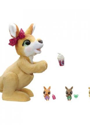 Интерактивная игрушка FurReal Friends Кенгуру мама Джоси с сюр...