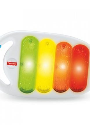 Музыкальная игрушка Fisher-Price Цветной ксилофон со световым ...