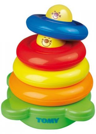 Развивающая игрушка TOMY Забавная пирамидка (6634)
