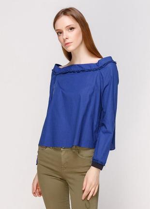 Блузка открытые плечи