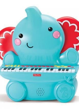 Детское пианино Fisher-Price Музыкальный слоненок (380008)