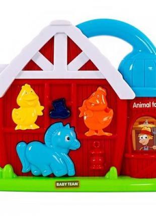 Развивающая игрушка Baby Team Ферма (8629)