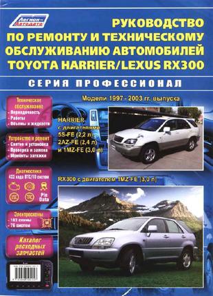 Toyota Harrier руководство