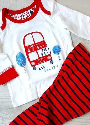 Пижама для новорожденного малыша mothercare