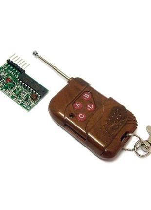 4-канальный беспроводной радиомодуль 2262/2272 ключ, пульт ДУ,...